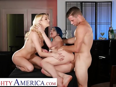 And Fuck Their Waiter After Hours - Jewelz Blu And Kenna James