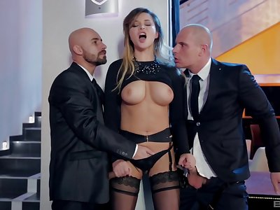 Double penetration can satisfy Anna Polina's sexual desires