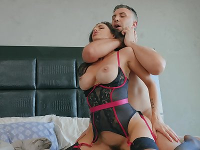 clothed sex can be even better if you fuck adorable Gia Dimarco