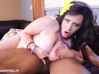 Jasmine Jones - SBBW Lubed Then Pounded