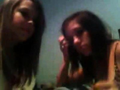 Horniest Amateur sheer haired night-time Teen bates on Webcam