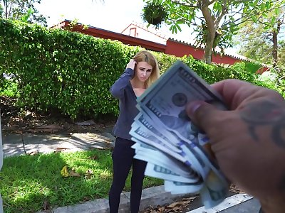 Lilli Dixon is down for vehicle fucking when the cash pay is germane
