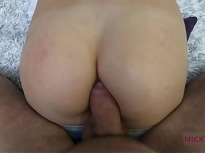 amateur shcool cooky have distance off anal creampie